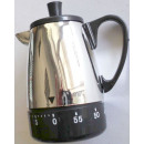 Hourglass Coffee Pot