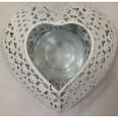 Teelichthalter Herzform