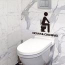 groothandel Badmeubilair & accessoires: Toilette sticker DOWNLOADEN