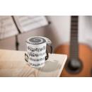grossiste Maison et cuisine: Tasse de musique - OVERTURE