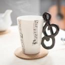 Großhandel Tassen & Becher: Tasse Musik - Violinschlüssel