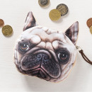 wholesale Wallets: 3D purse dog bulldog model 3