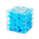 wholesale Saving Boxes: Mini bank labyrinth - blue