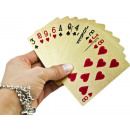 wholesale Parlor Games:Golden playing cards