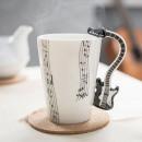 wholesale Houshold & Kitchen:Mug Music - BLACK GUITAR