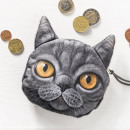 wholesale Wallets:3D Purse cat model 4