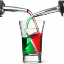 wholesale Sports and Fitness Equipment: Twisted glasses - twister shots 5 pcs.