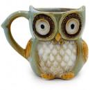 A mug of the BLUE owl
