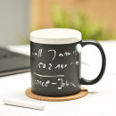 wholesale Cups & Mugs: Mug blackboard with chalk