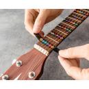 mayorista Jardin y Bricolage: Pegatinas para aprender a tocar la guitarra