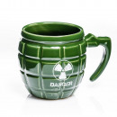 wholesale Cups & Mugs: Mug grenade DANGER - GREEN