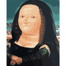 Thick Mona Lisa - a set for painting on numbers