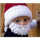 hurtownia Odziez dla dzieci i niemowlat: Czapka z brodą dla dzieci Santa Claus