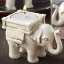 wholesale Home & Living: Elephant  candlestick - fortunately