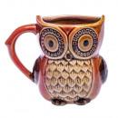 BROWN owl mug