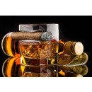 wholesale Drinking Glasses: A glass of whiskey and a cigar
