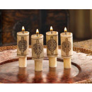Wine stoppers candles