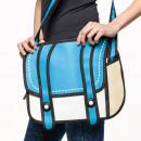 Großhandel Taschen & Reiseartikel: Bag  3D-Cartoon-like - blau