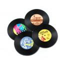 Vinyl retro pads 4 pcs