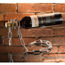 Chain rack for wine