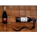 RIBBON wine rack - BLACK