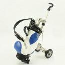 mayorista Regalos y papeleria: carrito de golf  con las plumas - azul