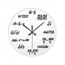grossiste Horloges & Reveils: Horloge mathématiques blanc