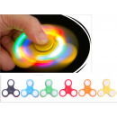 fidget hand spinner finger spinner with LED light