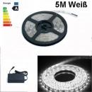 grossiste Ampoules: Strip LED Cool  blanc 5M 300 LED 3528 complet