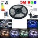 5m RGB LED Strip 3528 54 LEDS / m Kompletna