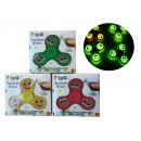 Fidget handspinner  Emoticon with afterglow