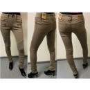 Damen Jeans hellgrau