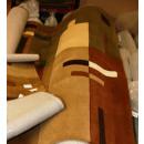 Handtuft – Teppich    Brauntöne