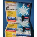 LED Schneeflocke mit Lauflichtfunktion