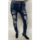 wholesale Jeanswear: Women's jeans in light blue