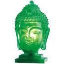 Tischlampe beleuchteter Buddhakopf in 2 Farben