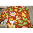 Gewebter Teppich modern mit Blumenmuster 001
