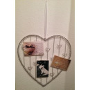 wholesale Pictures & Frames: DRULINE ' heart metal photo holder photo ...
