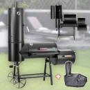 DRULINE 130kg Profi Smoker BBQ Grill Grillwagen Ho