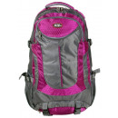wholesale Backpacks: Backpack 30 liters dark gray with purple