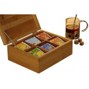 Bamboo tea box (21,8x18x9)