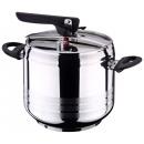 Stainless steel  pressure cooker Zurich (7 liters)