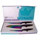 wholesale Knife Sets: Titanium knife set (3 pieces)