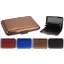 wholesale Mobile phone cases: Aluminum Wallet Pashouder