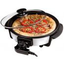 Pizzapfanne mit Glasdeckel (30cm)