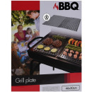 Barbecue Stainless steel grill plates - 2 pieces