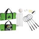 Großhandel Bälle & Schläger: Badminton und Volleyball-Set