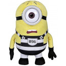 wholesale Toys: Plush Hug Minions Jail Carl 37cm