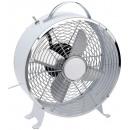 groothandel Airco's & ventilatoren: Tafelventilator metaal 26cm wit