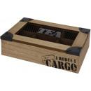 grossiste Aliments et boissons: Boîte à thé 6 compartiments - Cargo